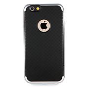 Funda Para Apple iPhone 7 Plus iPhone 7 Antigolpes Funda Trasera Color sólido Diseño Geométrico Dura TPU para iPhone 7 Plus iPhone 7