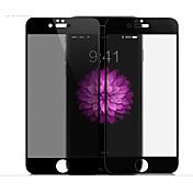 Protector de pantalla Apple para iPhone 7 Plus Vidrio Templado 1 pieza Protector de Pantalla Posterior y Frontal Privacidad Antiespionaje