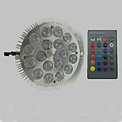 12W 900 lm E27 성장하는 전구 18 LED가 고성능 LED RGB AC 85-265V