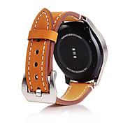 Klokkerem til Gear S3 Frontier Gear S3 Classic Gear S3 Classic LTE Samsung Galaxy Klassisk spenne Ekte lær Håndleddsrem