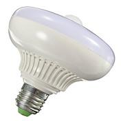12W 1000-1200lm E26 / E27 Smart LED-lampe T120 12 LED perler SMD 5630 Infrarød sensor Lysstyring Menneskekroppssensor Varm hvit Kjølig
