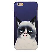 Funda Para Apple iPhone 7 Plus iPhone 7 Diseños Funda Trasera Gato Dura ordenador personal para iPhone 7 Plus iPhone 7 iPhone 6s Plus