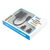 VGA Adapter, VGA to HDMI 1.4 Mini HDMI Micro HDMI Adapter Hann - hunn 0.2m (0.65Ft)