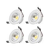 6W 1 LED Mulighet for demping Led-Nedlys Varm hvit / Kjølig hvit 110-220V Garasje / Oppbevaringsrom / grovkjøkken / Entré / trapper