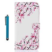 Funda Para Apple iPhone 7 Plus iPhone 7 Soporte de Coche Cartera con Soporte Flip Diseños Funda de Cuerpo Entero Flor Dura Cuero de PU