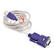 USB 2.0 Adapterkabel, USB 2.0 to RS232 Adapterkabel Hann - hann 1.5M (5ft)