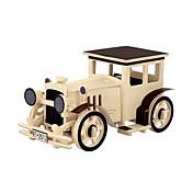 Puzzles 3D Puzzles de Madera Maquetas de madera Aeronave Coche 3D Manualidades 3D Madera Clásico Unisex Regalo
