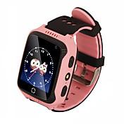 hhy gps m05 posicionamiento de seguimiento en tiempo real de posicionamiento de la llamada para ayudar a la linterna reloj de los niños inteligentes