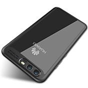 Funda Para Huawei Espejo Transparente Funda Trasera Color sólido Suave Silicona para P10 Plus P10 Huawei