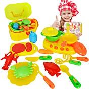 Conjuntos de juguetes de cocina Platos de juguetes y juegos de té Aparatos de cocina para niños ' Juguetes Juguetes Niños Chica 16 Piezas
