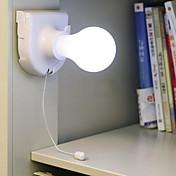 1 juego Luz de noche LED Batería Wireless