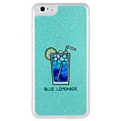Etui Til Apple iPhone 7 Plus iPhone 7 Selvlysende Mønster Bakdeksel Ord / setning Glimtende Glitter Hard PC til iPhone 7 Plus iPhone 7