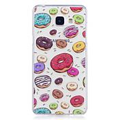 케이스 제품 Samsung Galaxy A5(2017) A3(2017) IMD 투명 패턴 뒷면 커버 음식 소프트 TPU 용 A3 (2017) A5 (2017) A5(2016) A3(2016)