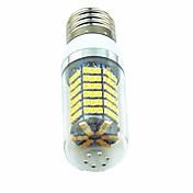 5W 700 lm LED-kornpærer T 138 leds SMD 2835 Varm hvit Hvit AC220