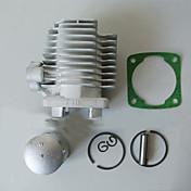 40mm lomme sykkel sylinderstempelsett for 2 takts skitt pit sykkel gass scooter motorisert sykkel mini quad
