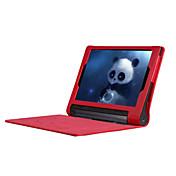 Funda Para Lenovo IdeaPad Lenovo Carcasas de Cuerpo Completo Fundas con Soporte Funda de Cuerpo Entero Color sólido Dura Cuero de PU para