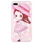 Funda Para Apple iPhone 7 Plus iPhone 7 Diseños Funda Trasera Caricatura Suave TPU para iPhone 7 Plus iPhone 7 iPhone 6s Plus iPhone 6s