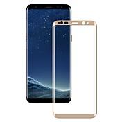 안정된 유리 화면 보호기 용 Samsung Galaxy S8 Plus 전체 바디 화면 보호 제품 2.5D커브 엣지 폭발의 증거 스크래치 방지