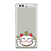 Etui Til Huawei P9 Huawei P9 Lite Huawei P8 Huawei Huawei P9 Plus Huawei P8 Lite Huawei Mate 8 Gjennomsiktig Mønster Bakdeksel Tegneserie