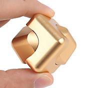 2-way 2in1 fidget hilandero cubo girocompás dedo mano superior spinner edc añadir adhd anti ansiedad estrés alivio lujo cubo mágico 1pc