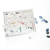5 Joyería de uñas Herramientas Arte Decorativa/Retro Moda Estilo playero Alta calidad Diario