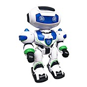 Robot RC LZ555-3 Electrónica para niños ABS Canto Baile Paseo Múltiples Funciones Control Remoto