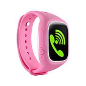 Barneklokker GPS Pekeskjerm Kalorier brent Pedometere Multifunktion Informasjon Beskjedkontroll Anti-lost APP-kontroll Elektronisk gjerde