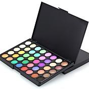 40 Paleta de Sombras de Ojos Seco Mate Brillo Mineral Paleta de sombra de ojos Maquillaje de Diario Maquillaje de Halloween Maquillaje de
