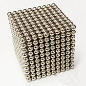 Magnetiske leker Magiske kuber Neodym-magnet Magnetiske kuler Supersterke neodyme magneter Stresslindrende leker 1000pcs 3mm Magnetisk