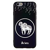 Funda Para Apple iPhone 7 Plus iPhone 7 Antigolpes En Relieve Funda Trasera Animal Suave TPU para iPhone 7 Plus iPhone 7 iPhone 6s Plus