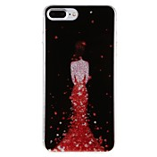 Funda Para Apple iPhone 7 Plus iPhone 7 IMD Diseños Funda Trasera Chica Sexy Dura ordenador personal para iPhone 7 Plus iPhone 7 iPhone