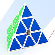 Cubo de rubik MoYu Pyramid Cubo velocidad suave Cubos mágicos / Antiestrés / Juguete Educativo rompecabezas del cubo Adhesivo suave Regalo Unisex