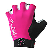 spakct - guante de la mujer en bicicleta dedos cortos