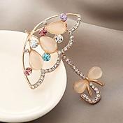 Hombre Mujer Broche La imitación de diamante Adorable Clásico Zirconio Legierung Joyas Joyas Para Diario