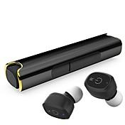 Q299 En el oido Sin Cable Auriculares Dinámica El plastico Teléfono Móvil Auricular Mini / Con la caja de carga / Con Micrófono