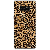 Funda Para Samsung Galaxy Diseños Funda Trasera Estampado Leopardo Suave TPU para Note 8 Note 5 Edge Note 5 Note 4 Note 3 Lite Note 3