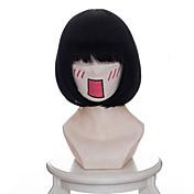 Pelucas de Cosplay Hoozuki sin Reitetsu Zashiki-warashi 1 Animé Pelucas de Cosplay 35 CM Fibra resistente al calor Mujer