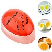 1pc fargeendring skiftende eggutløser for perfekt kokk, myk og hardkokt eggutløser, kreativ kjøkkenutstyr