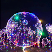 3M Iluminación LED Globos Globo LED Vacaciones Romance Cumpleaños Iluminación Mecheros Recargables Fosforescente Inflable Noctilucente