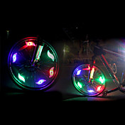 luces de seguridad LED LED Ciclismo Luminoso CR2032 200 Lumens Batería CR2032 Multicolor Verde Azul Rojo Ciclismo