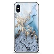 Etui Til Apple iPhone X iPhone 8 Plus Mønster Bakdeksel Marmor Myk TPU til iPhone X iPhone 8 Plus iPhone 8 iPhone 7 Plus iPhone 7 iPhone
