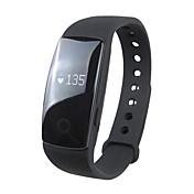 Reloj elegante ID107 for iOS / Android Monitor de Pulso Cardiaco / Calorías Quemadas / Standby Largo / Pantalla Táctil / Resistente al Agua Seguimiento del Sueño / Encontrar Mi Dispositivo / 64MB