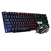 flytende mekaniske spill føle suite 7 farge bakgrunnsbelyst tastatur eller dress