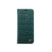 Funda Para Samsung Galaxy S8 Plus S8 Soporte de Coche Cartera con Soporte Funda de Cuerpo Entero Color sólido Dura piel genuina para S8