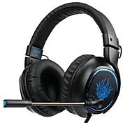 SADES R5 Cinta Con Cable Auriculares Dinámica El plastico De Videojuegos Auricular Con Micrófono Auriculares