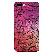 Funda Para Apple iPhone 6 iPhone 7 Diseños Funda Trasera Líneas / Olas Dura ordenador personal para iPhone 8 Plus iPhone 8 iPhone 7 Plus