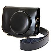 캐논 파워 샷 g7 x 마크 ii g7x g7x2 (다양한 색상)에 대한 dengpin pu 가죽 카메라 가방 커버