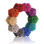 Magnetiske leker Neodym-magnet Magnetiske kuler Supersterke neodyme magneter 216pcs 5mm Metall Klassisk & Tidløs Magnetisk Kvadrat Jente