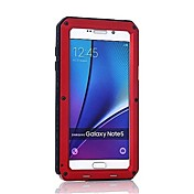 Etui Til Samsung Galaxy Note 8 Note 5 Støtsikker Heldekkende etui Rustning Hard Metall til Note 8 Note 5 Note 4 Note 3
