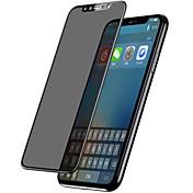 Skjermbeskytter Apple til iPhone X Herdet Glass 1 stk Skjermbeskytter Heldekkende beskyttelse Skjermbeskyttelse 3D bøyd kant Personvern